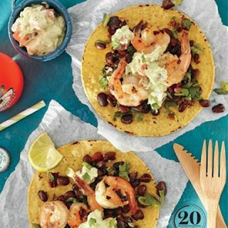 Weight Watchers Grilled Shrimp Tostadas With Lime