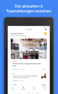 Google News Screenshot