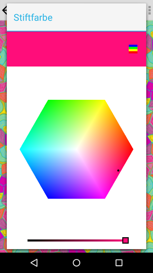KaleidoPaint – Screenshot