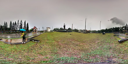 Photo: Photosphere of the Main Gate of Cavite State University - Indang Campus