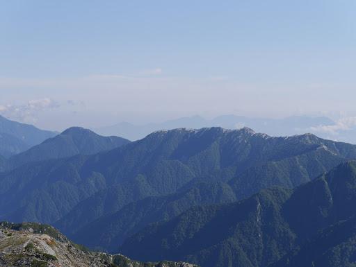 燕岳と唐沢岳