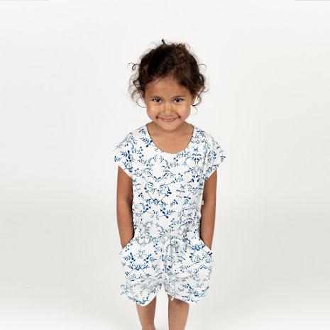 Rosetta - Mönstrad jumpsuit till barn