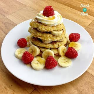 Syn Free Oat Pancakes.