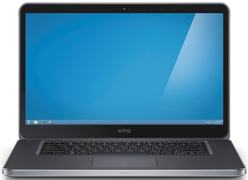 Photo: Dell XPS 15 laptop - straight shot.More details here: http://dell.to/Oj6LIW