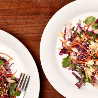 Asian Chicken and Cabbage Salad.