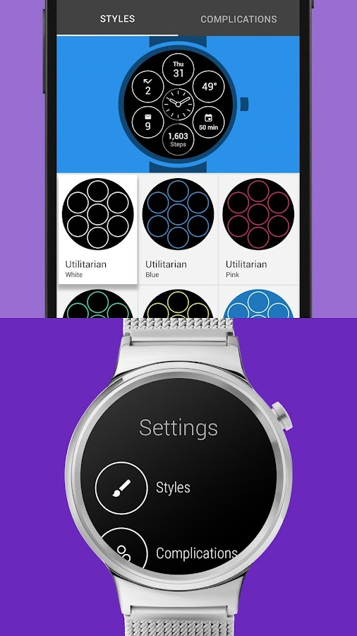 Bits Watch Face- screenshot