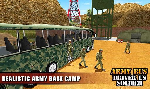 Army Bus Driver 2020: Real Military Bus Simulator apktram screenshots 7