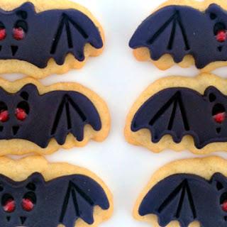 Vampire Bat Sugar Cookies