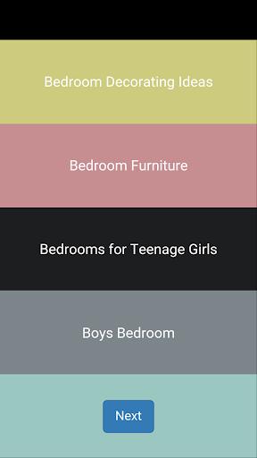 ベッドルームのインテリアのアイデア