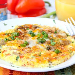 Easy Air Fryer Omelette.