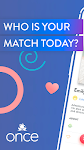 screenshot of Once - Quality Matches Every day