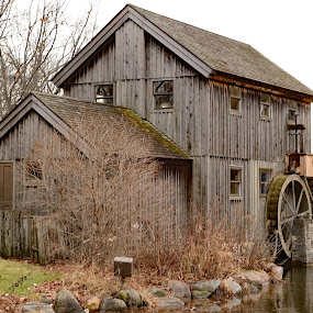 Friction Water Wheel Governors by Stephen Beatty - Buildings & Architecture Public & Historical (  )