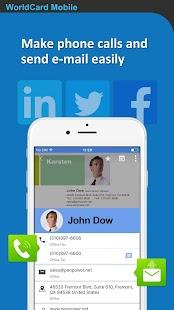 WorldCard Mobile Lite Screenshot
