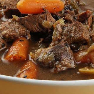 Clean Eating Slow Cooker Bison Stew.