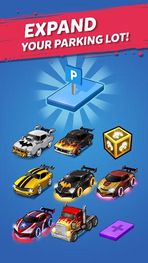 Merge Battle Car: Best Idle Clicker Tycoon game apklade screenshots 2