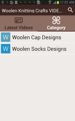 Woolen Knitting Crafts VIDEOs - screenshot