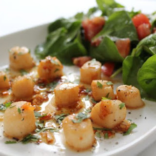 scallops with chilli and lime neil s healthy meals scallops olive oil ...
