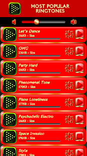 Most Popular Ringtones - náhled