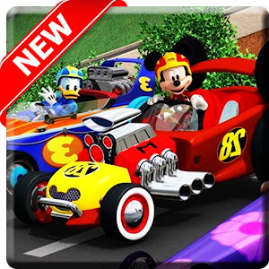 Mickey And Friend Roadster Race Of the City 1.0 Icon