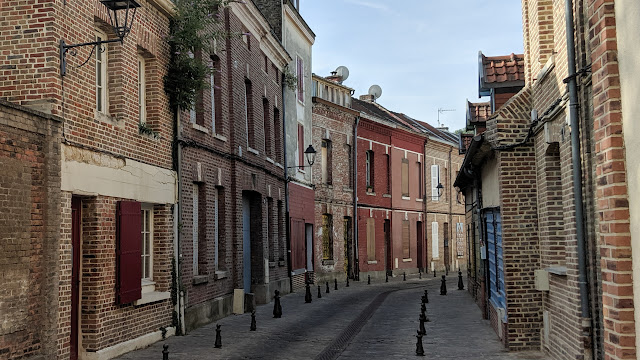 Quartier Saint-Leu in Amiens in Amiens, Hauts-de-Seine - Ile-de-France, France