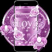Lavender Love Heart Theme
