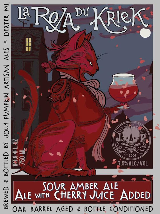 Logo of Jolly Pumpkin La Roja Du Kriek