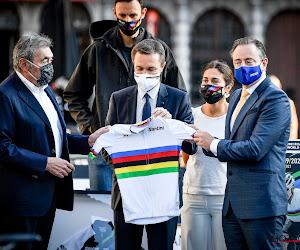 Eddy Merckx David Lappartient Zuhal Demir Bart De Wever