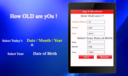 Age Calculator 1.0.1 screenshots 1