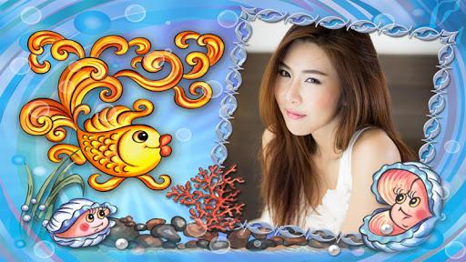 แต่งรูป กรอบรูปปลาสวยๆน่ารักๆ