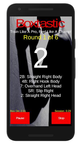 Boxtastic: Boxing Training Workouts (HIIT Coach) 5.02 screenshots 1