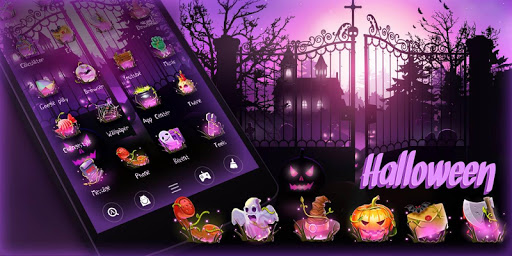 玩免費個人化APP|下載Halloween GO  Launcher Theme app不用錢|硬是要APP
