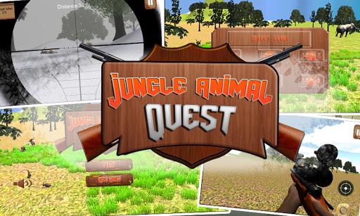 Jungle Animal Quest: 3D Hunter