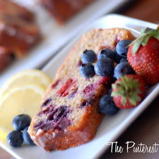 Lemond Strawberry Blueberry Bread