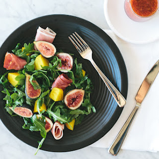 Fig, Golden Beet and Prosciutto Salad with Fig Vinaigrette