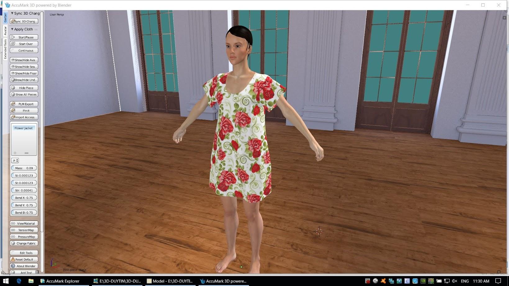 Gerber Accumark 3D-Hướng Dẫn Căn Bản Dựng Mẫu 3D 1