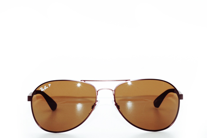 Ray Ban Pilot RB3549 brown