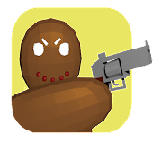 gingerbread gunner(indie game)