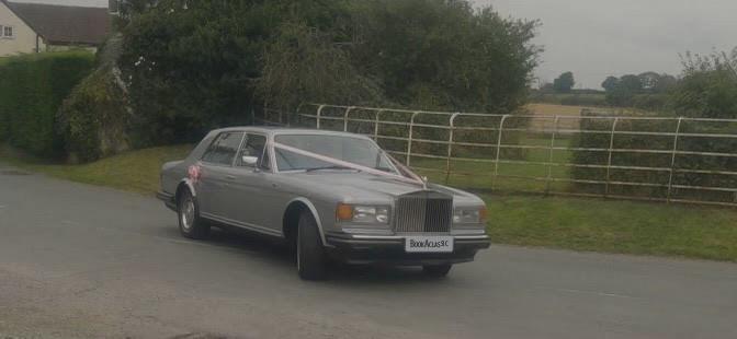 Rolls-royce Silver Spirit Hire Staffordshire