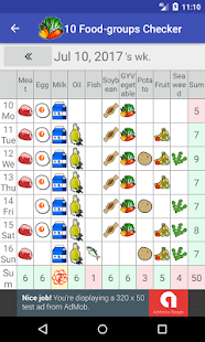 10 Food-groups Checker : simple everyday nutrition - náhled