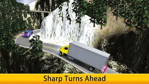 Lorry Truck Driver Cargo Free apk screenshot 3