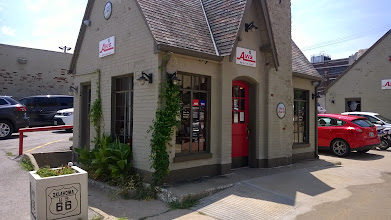 Photo: The Vickery Phillips 66 Station in Tulsa--which now houses an Avis office--is a restored version of the classic Phillips 66 cottage-style station.