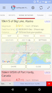 ? Earthquake Network Pro – Realtime alerts (MOD, Paid) v10.5.30 3