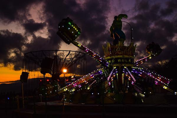 Luna Park - Sunset di davide_roncarolo