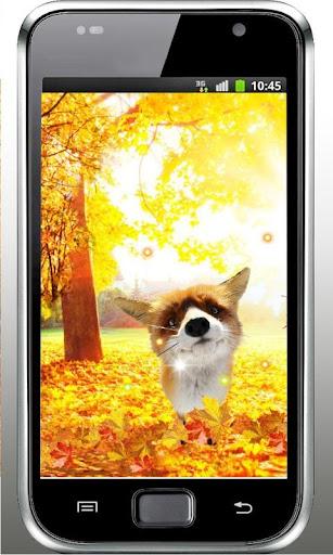 Autumn Forest Fox LWP 2015