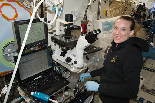 Rubins conducts Heart Cells Experiment OPS