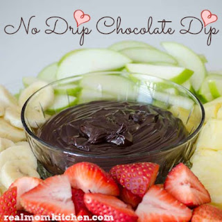 No Drip Chocolate Dip