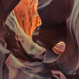 Lower Antelope Canyon by Arif Sarıyıldız - Landscapes Caves & Formations ( coloured stones, arizona, travel, usa, lower antelope canyon )