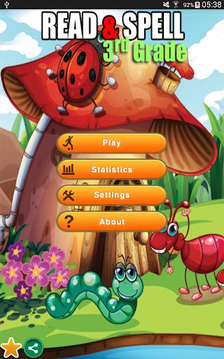 Read Spell Game Third Grade