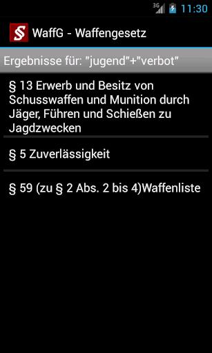 Strafrecht - Strafgesetze screenshot 5
