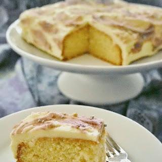Simple Vanilla Butter Cake.